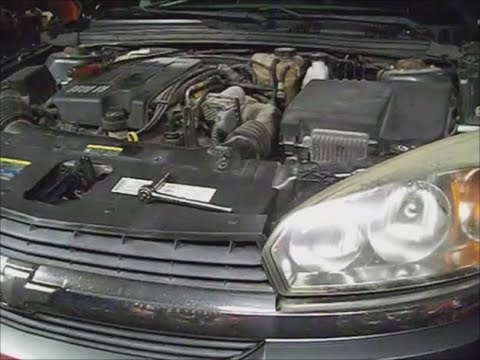 2005 Newer body style Malibu LS Oil leak